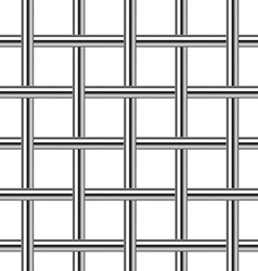 Chrome metal grid seamless background vector