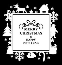 christmas rs vector image vector image