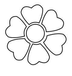 sakura flower japan natural season line vector image