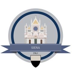 Siena vector image