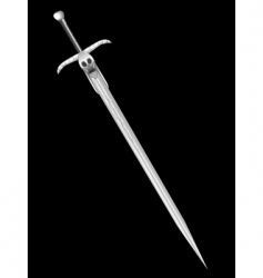 sword of death vector image vector image