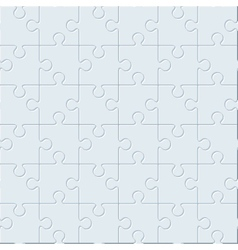 Puzzles seamless pattern vector