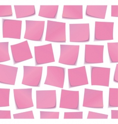 sticky notes patternxa vector image