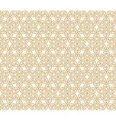 Indian Seamless Abstract Pattern Traditional vector image