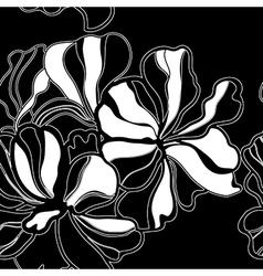 seamless floral patt 3 3 vector image