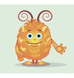 Good orange monsters vector image vector image