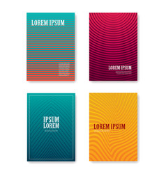 Minimal abstract covers gradients design with vector
