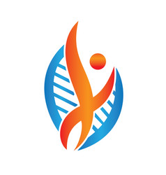 therapeutic and holistic health center logo design vector image