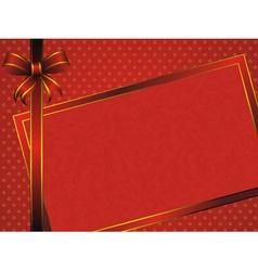 vintage pattern frame vector image vector image