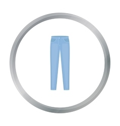 Pants icon of for web and vector