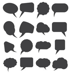 Speech bubles simpe3 resize vector