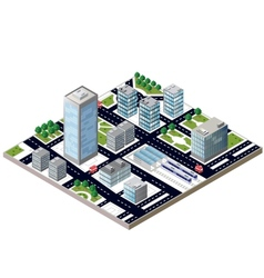 City block vector image