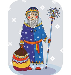 Grandfather Frost vector image