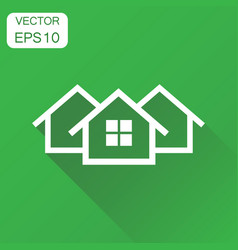 House icon business concept home apartment vector