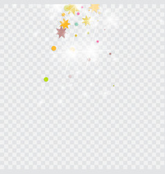 multicolored confetti vector image