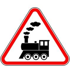 Train sign vector