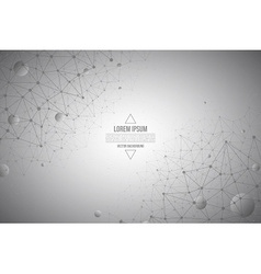 3d abstract technology gray background vector