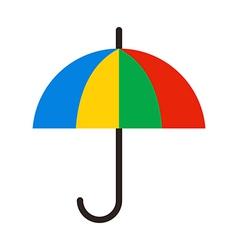 Color Umbrella vector image vector image