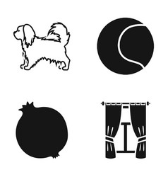 Cords textiles nature and other web icon in vector