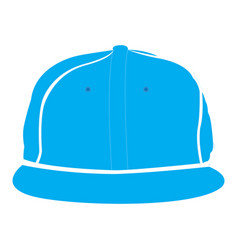 isolated baseball hat vector image