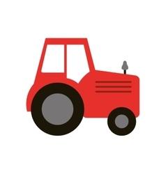 Isolated truck machine design vector