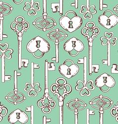 keyspattern vector image