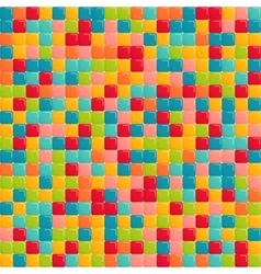 Seamless abstract square background vector