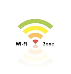 Wifi zone vector