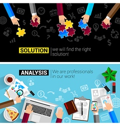 concepts business analysis planning consulting vector image