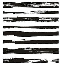 Hand drawn seamless pattern modern background vector image