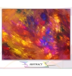 Abstract background watercolor vector