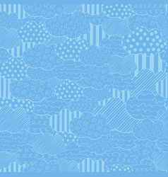 abstract seamless pattern with vector image vector image