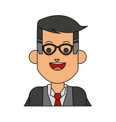 Businessman icon image vector