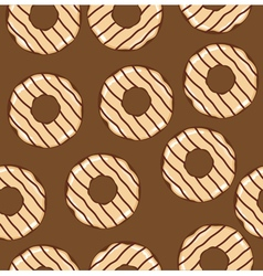 donuts seamless vector image