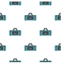 road bag pattern seamless vector image vector image