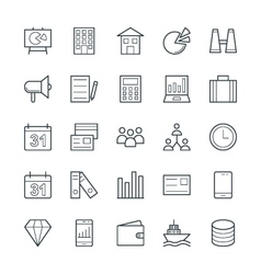 Trade cool icons 1 vector