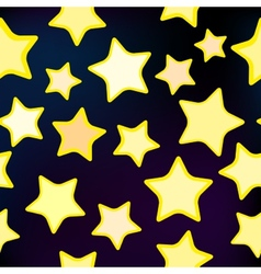 Seamless star pattern vector