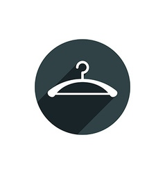 Hanger icon isolated vector