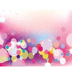 Lights background vector