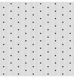Dot lace seamless pattern net vector