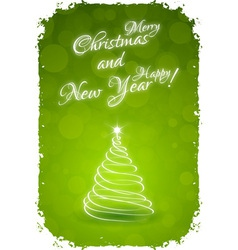 Grungy Happy New Year Card vector image vector image