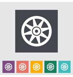 icon Car drive vector image