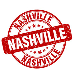 Nashville stamp vector