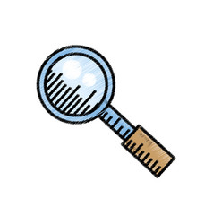Search loupe find internet sketch vector