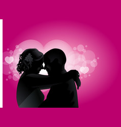 love couples with love boken vector image vector image
