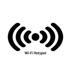 Wifi hotspot vector