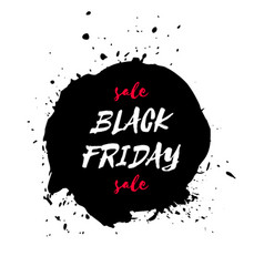 black friday sale watercolor texture background vector image vector image