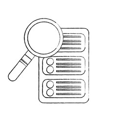 Server web hosting icon image vector