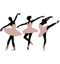 balletdancer vector image