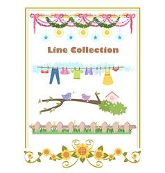 Line Set 1 vector image